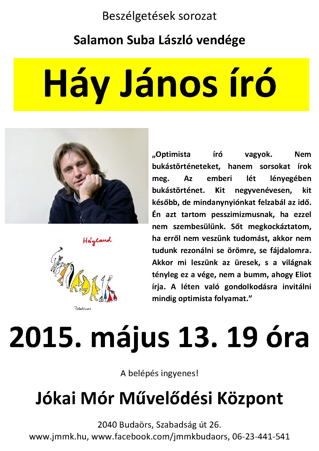 Háy János plakát