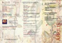Programfüzet – 2014. Április