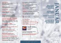 Programfüzet – 2015. január