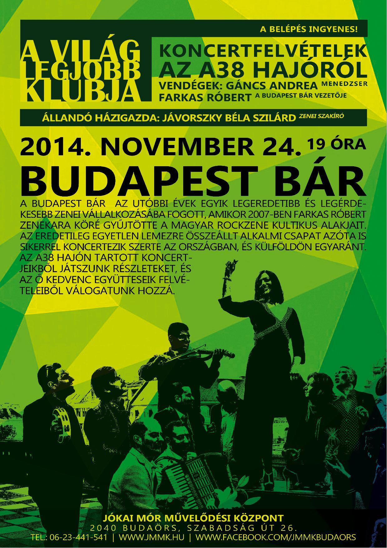 BudapestBár-plakát