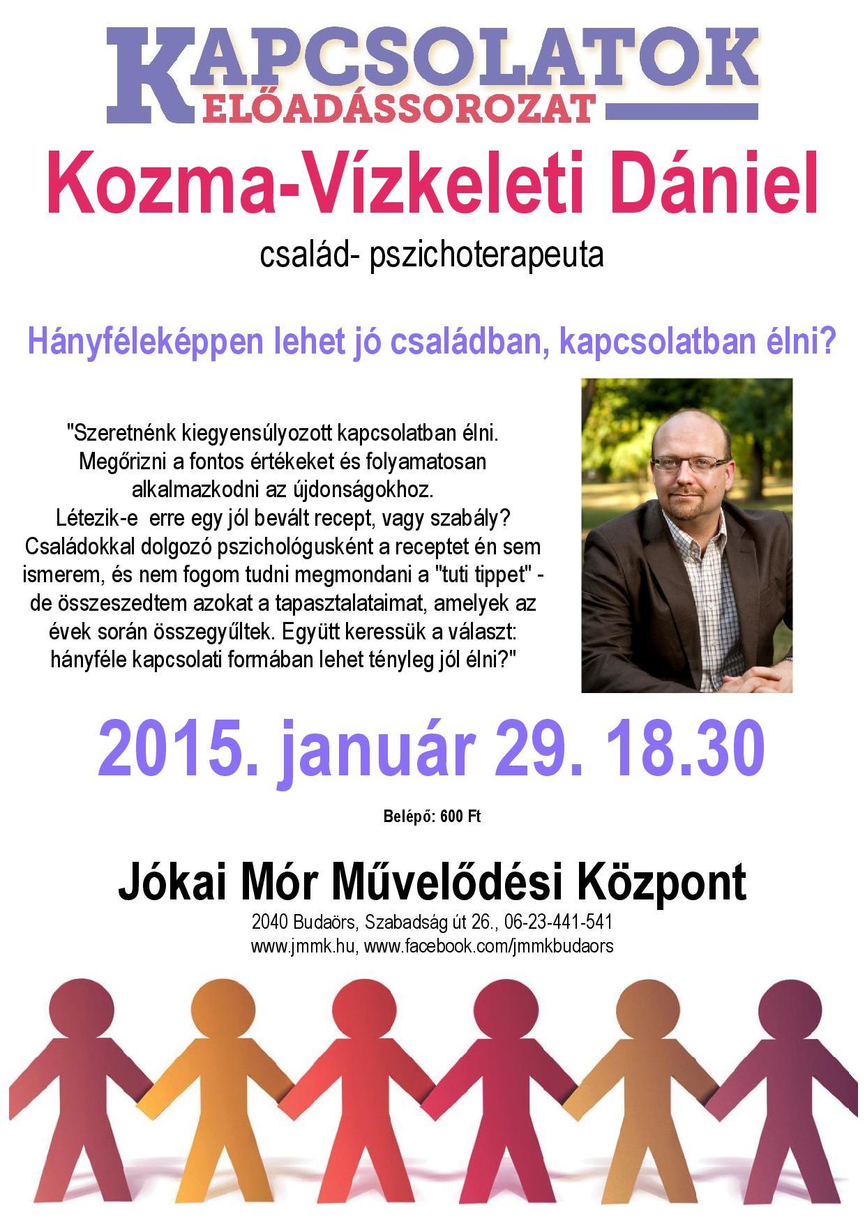 Kozma-Vízkeleti plakát