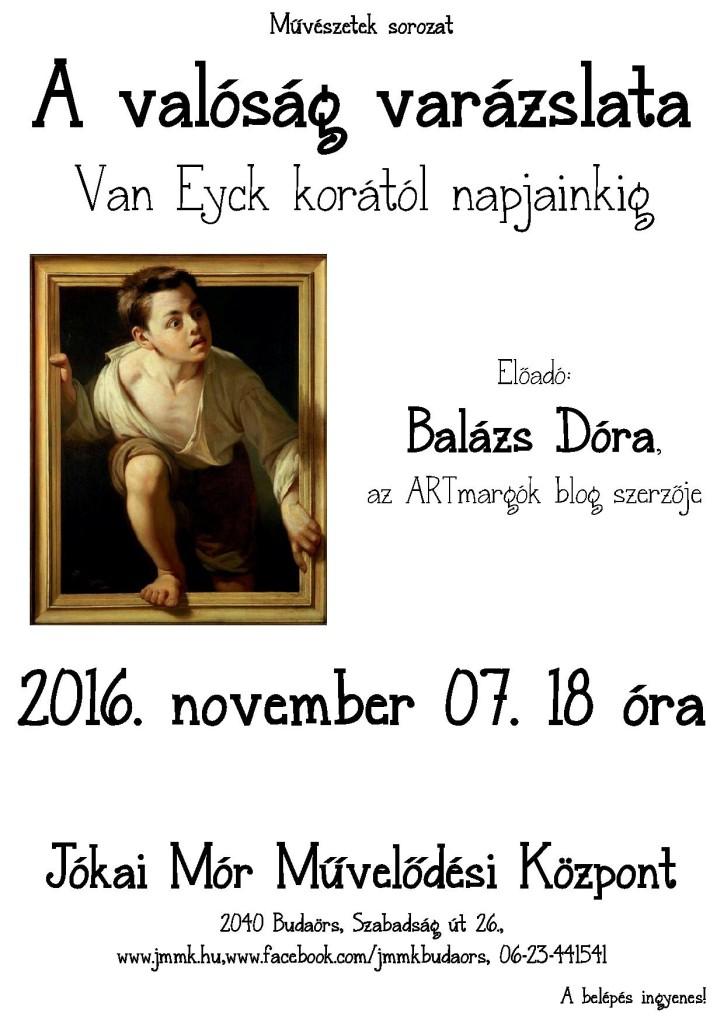 Művészetek sorozat november