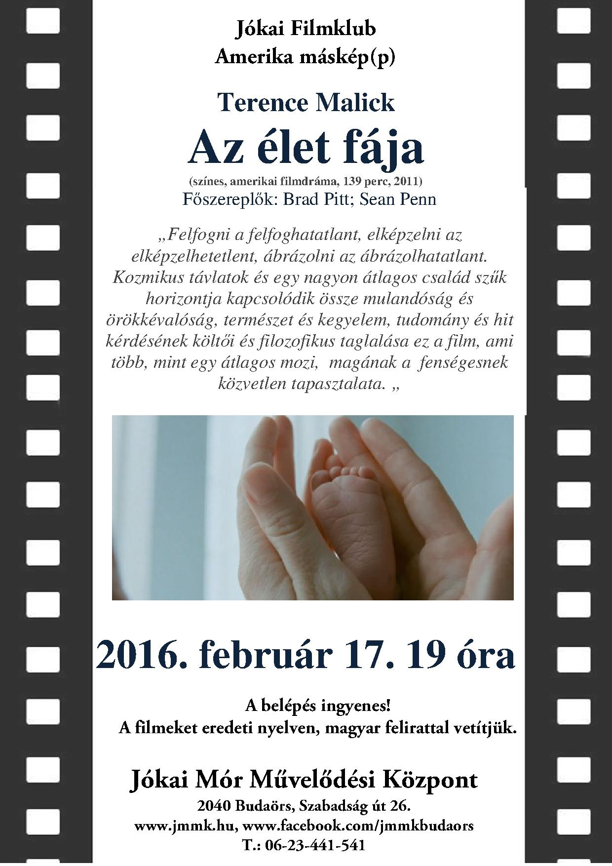 februári plakát plakát