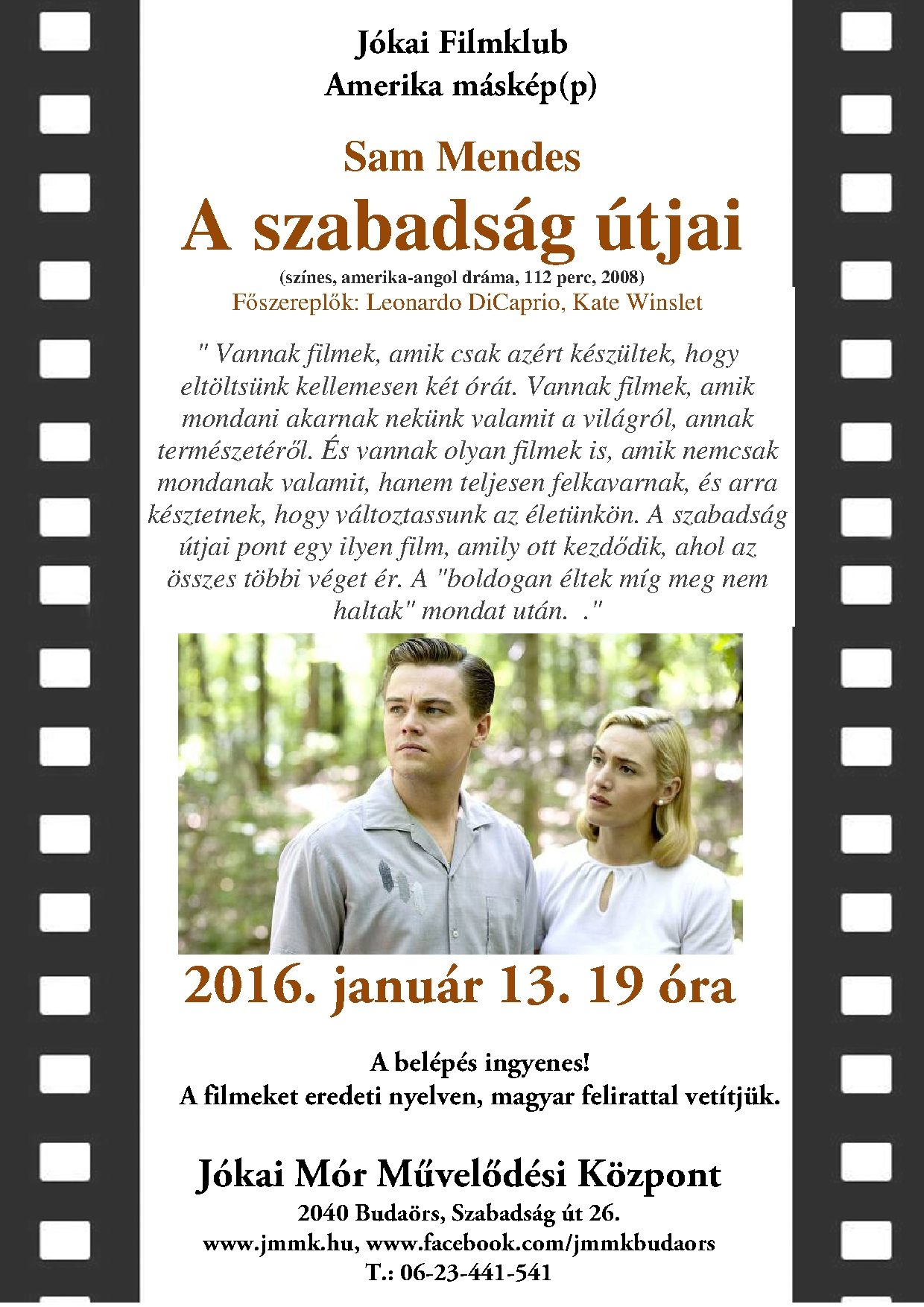 januári plakát plakát