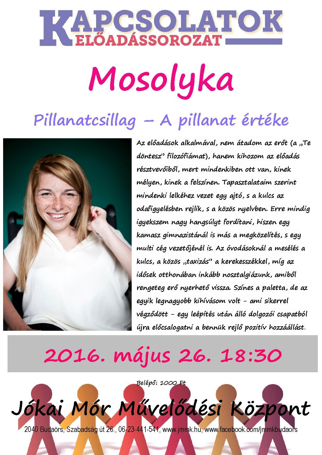 Mosolyka plakát