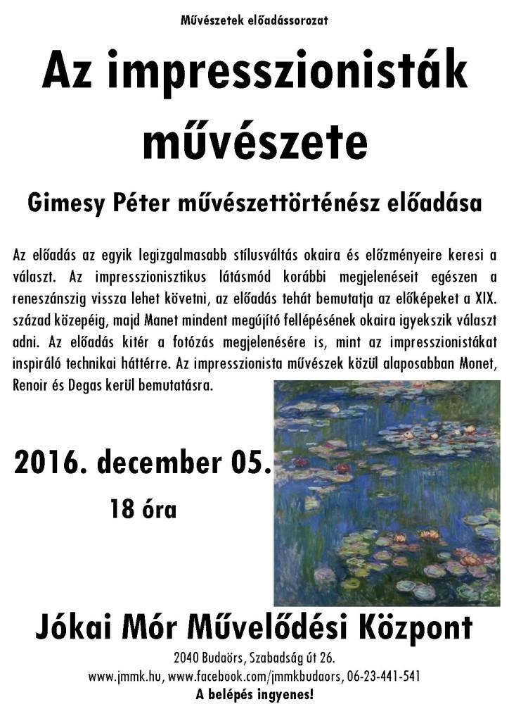 decemberi művészetek plakát